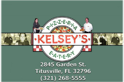 Kelsey's Pizza in Titusville